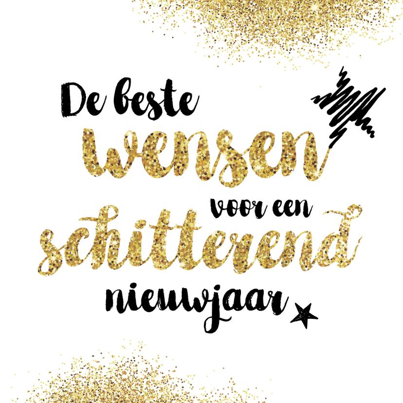 Nieuwjaarskaart Gelukkig Nieuwjaar!