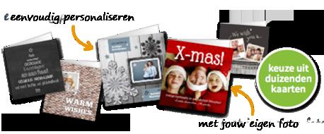 Kerstkaarten met je eigen foto