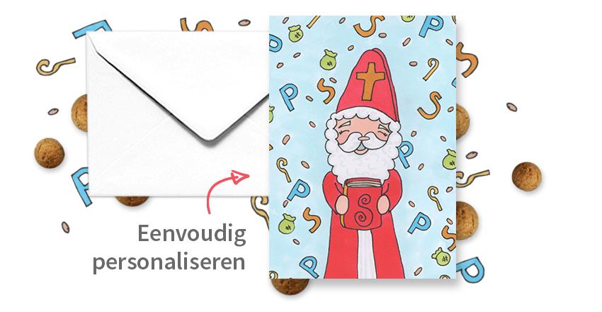 Sinterklaaskaarten maken