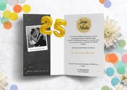 Uitnodiging huwelijksjubileum