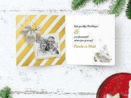 Kerstkaarten met foto