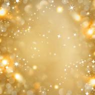 Kerstachtergrond gouden kerstkaart