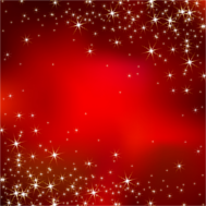 Kerstkaart achtergrond rode sterren