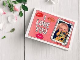 Zomaar een liefdekaart