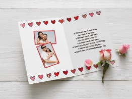 Liefde kaarten verliefd