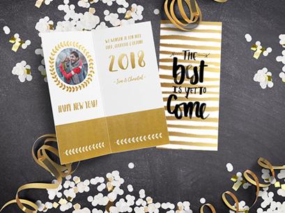 TIP: Langwerpige nieuwjaarskaarten