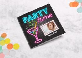 Uitnodiging verjaardagsfeestje