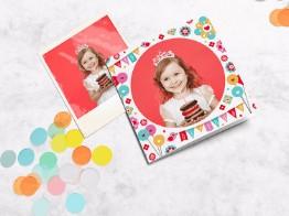 Verjaardagskaarten met eigen foto