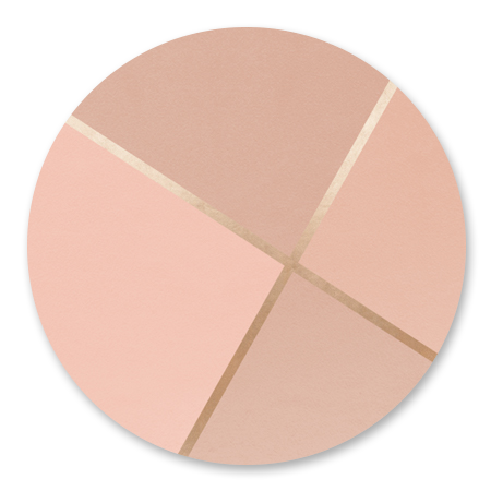 Geometrisch Roze