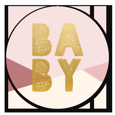 Babyshower vlakken meisje