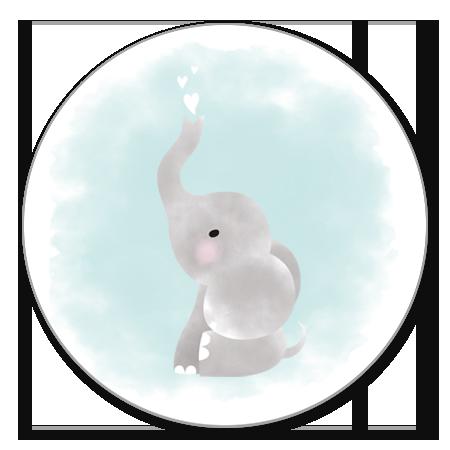 Geboorte Jongen Olifantje