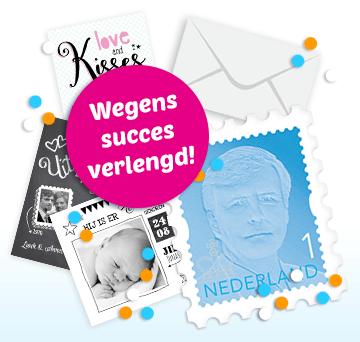 Alsjeblieft, een gratis postzegel!