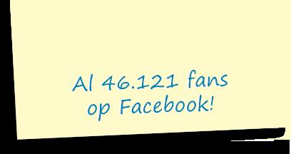 Al 46.121 fans op Facebook!
