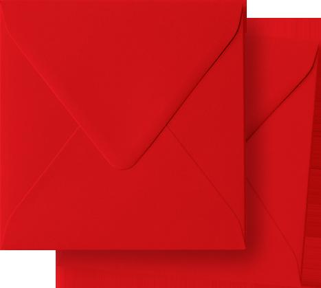 rode enveloppen